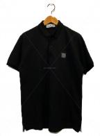 STONE ISLAND(|ストーンアイランド)の古着「ポロシャツ」|ブラック