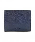 BVLGARI(ブルガリ)の古着「2つ折り財布」 ネイビー
