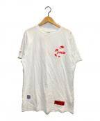 HERON PRESTON(ヘロンプレストン)の古着「風格Tシャツ」|ホワイト