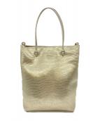 ()の古着「ハンドバッグ」|ゴールド