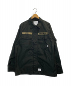()の古着「L/S COTTON.RIPSTOP」|ブラック