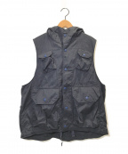 Engineered Garments(エンジニアドガーメンツ)の古着「Field Vest」|ネイビー