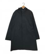 Traditional Weatherwear(トラディショナルウェザーウェア)の古着「フーデッドコート」|ネイビー