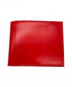 ETTINGER(エッティンガー)の古着「2つ折り財布」|レッド