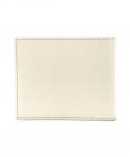 Camille Fournet × BARNEYS NEW YORK(カミーユフォルネ×バーニーズニューヨーク)の古着「2つ折り財布」|ホワイト