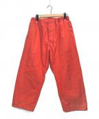 KAPTAIN SUNSHINE(キャプテンサンシャイン)の古着「Athletic Easy Pants」|ベージュ