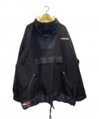 POLO SPORT(ポロスポーツ)の古着「ワイドアノラックジャケット」 ブラック