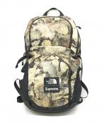 SUPREME×THE NORTH FACE(シュプリーム ×ザノースフェイス)の古着「pocono backpack」 ブラック×グリーン