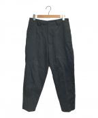 SHINYA KOZUKA(シンヤコズカ)の古着「WORK TROUSERS WITH DICKIES」|ブラック
