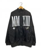 KTZ(ケーティーゼット)の古着「ブルゾン」|ブラック