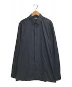 ()の古着「スリムストレッチシャツ」 ブラック