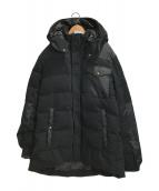 ()の古着「ウールダウンジャケット」 ブラック