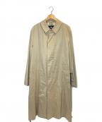 BURBERRY LONDON(バーバリー ロンドン)の古着「ステンカラーコート」 ベージュ