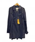 MONITALY(モニタリー)の古着「SPRING COAT」|ネイビー