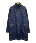 ORGUEIL(オルゲイユ)の古着「Denim Coat」|インディゴ