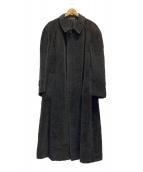 ()の古着「ウールモヘアコート」|グレー