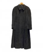 GIORGIO ARMANI(ジョルジョアルマーニ)の古着「ウールモヘアコート」|グレー
