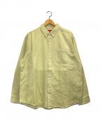 SUPREME(シュプリーム)の古着「ボタンダウンシャツ」|ベージュ