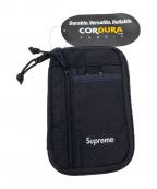 SUPREME(シュプリーム)の古着「SMALL ZIP POUCH」 ブラック