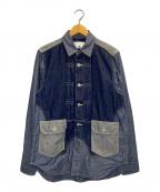 GANRYU(ガンリュウ)の古着「デニムシャツジャケット」|ベージュ