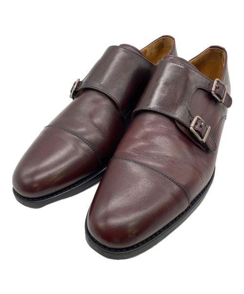 berwick(バーウィック)berwick (バーウィック) ダブルモンクストラップシューズ ブラウン サイズ:7 1/2の古着・服飾アイテム