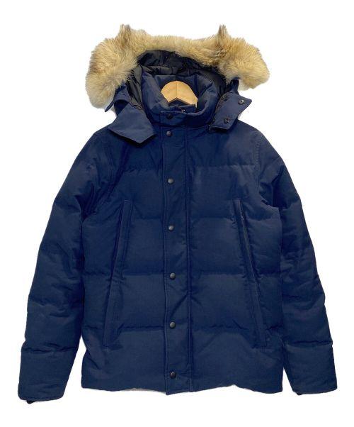 CANADA GOOSE(カナダグース)CANADA GOOSE (カナダグース) WYNDHAM PARKA FUSION FIT ネイビー サイズ:Sの古着・服飾アイテム