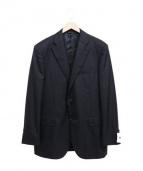 DURBAN(ダーバン)の古着「シルク混スーツ」|ブラック