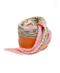 HERMES(エルメス)の古着「プリーツスカーフ」|ピンク