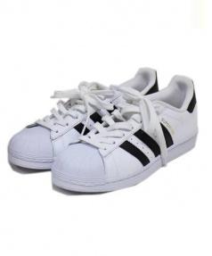 adidas(アディダス)の古着「スニーカー」 ホワイト×ブラック
