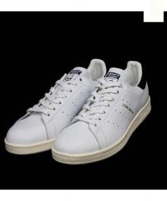 adidas(アディダス)の古着「STANSMITH 」 ホワイト×ネイビー