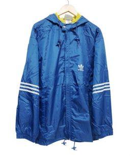 adidas originals(アディダスオリジナル)の古着「HOODIE JACKET」|ブルー