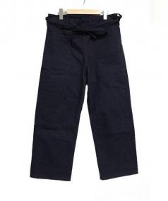 tuki(ツキ)の古着「karate pants」|ネイビー