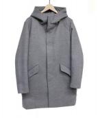 LHP(エルヘイチピ)の古着「フーデッドコート」|グレー