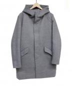 LHP(エルヘイチピ)の古着「フーデッドコート」 グレー