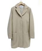 MOTOMACHI Zelal(モトマチゼラール)の古着「ウールコート」|ベージュ