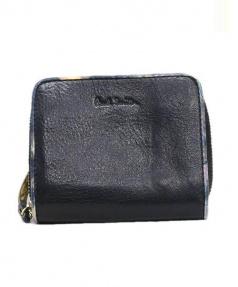 Paul Smith(ポールスミス)の古着「2つ折り財布」|ブラック