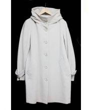 iCB(アイシービー)の古着「カシミヤ混コート」|アイボリー