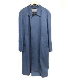 LANVIN(ランバン)の古着「ライナー付き比翼コート」 ブルー