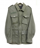 A.P.C.(アー・ペー・セー)の古着「エルボーパッチ付ミリタリージャケット」|カーキ