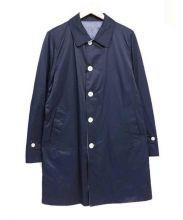 PLST(プラステ)の古着「ステンカラーコート」|ネイビー