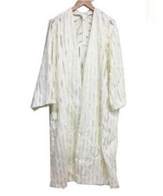 Adam et Rope(アダムエロペ)の古着「コットンキュプラカーディガン」|ホワイト
