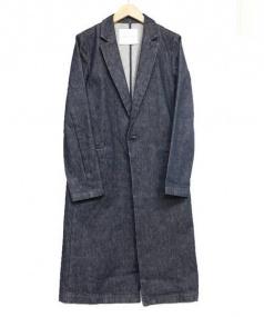 Adam et Rope(アダムエロペ)の古着「デニムコート」|インディゴ