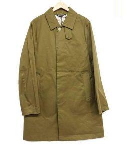 Traditional Weatherwear(トラディショナル ウェザーウェア)の古着「比翼コート」|カーキ