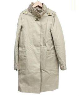 TOMMY HILFIGER(トミー ヒルフィガー)の古着「比翼コート」|ベージュ
