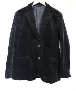 STEVEN ALAN(スティーブンアラン)の古着「8WALE CORD 2B JACKET」|ブラック