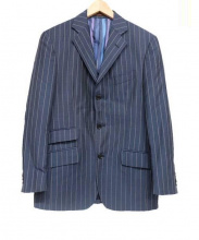 ETRO(エトロ)の古着「3Bスーツ」|ネイビー