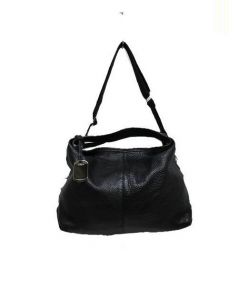 FURLA(フルラ)の古着「2WAYレザーハンドバッグ」|ブラック