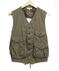 Engineered Garments(エンジニアド ガーメンツ)の古着「ベスト」|オリーブ