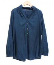 PALLAS PALACE(パラスパレス)の古着「コットンシャツ」|ネイビー