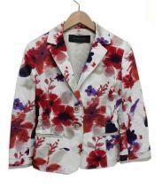 ELIE TAHARI(エリー・タハリー)の古着「テーラードジャケット」|ホワイト×レッド
